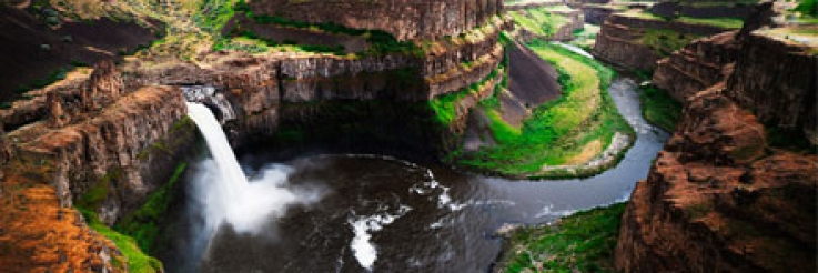Palouse Falls Designated Official State Waterfall