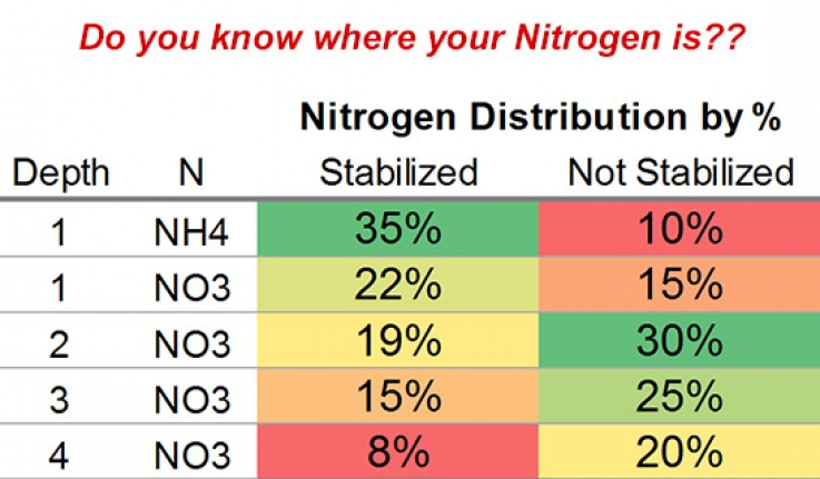 Fall & Winter Nitrogen Movement