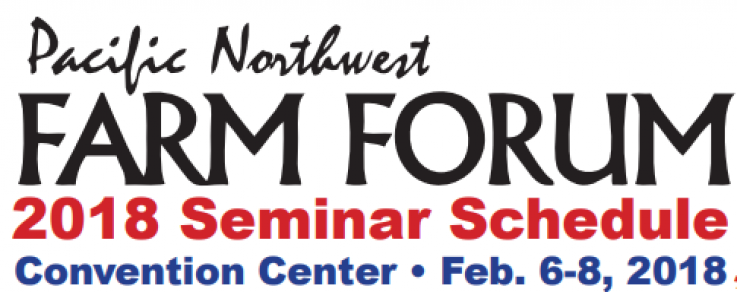 Hear Us at the PNW Farm Forum!
