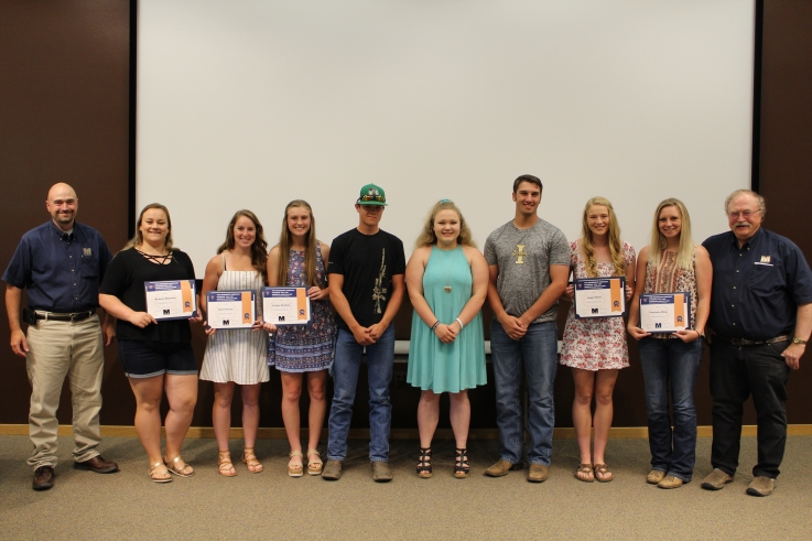 Congratulations Scholarship Winners
