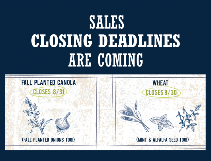 Crop Insurance Deadlines